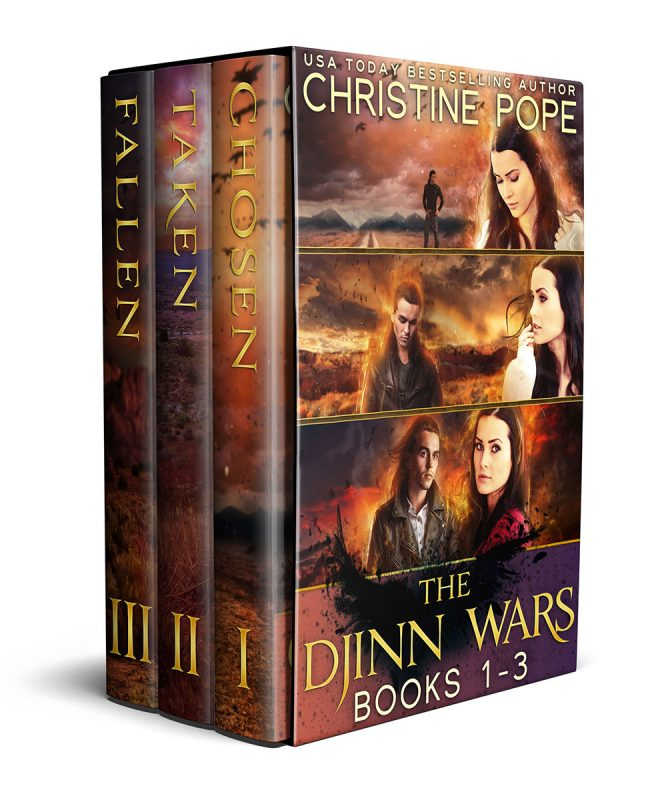 The Djinn Wars, Books 1-3: Chosen, Taken, and Fallen