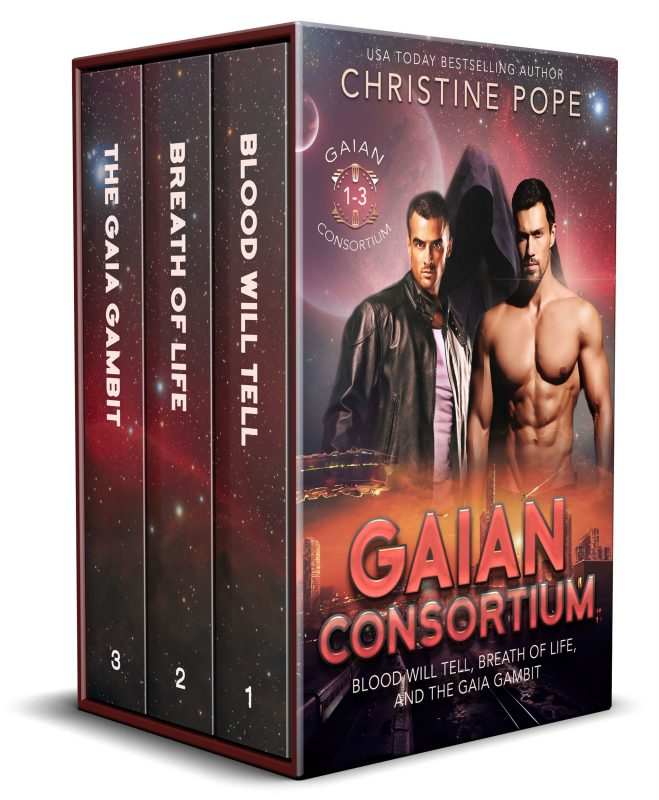 Gaian Consortium, Books 1-3: Blood Will Tell, Breath of Life, and The Mandala Maneuver