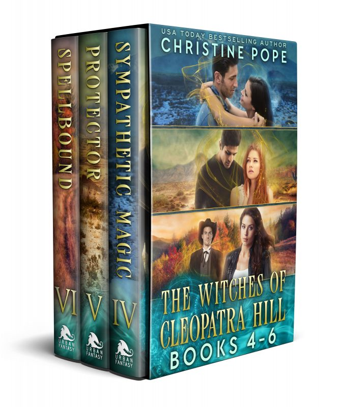 The Witches of Cleopatra Hill, Books 4-6: Sympathetic Magic, Protector, and Spellbound