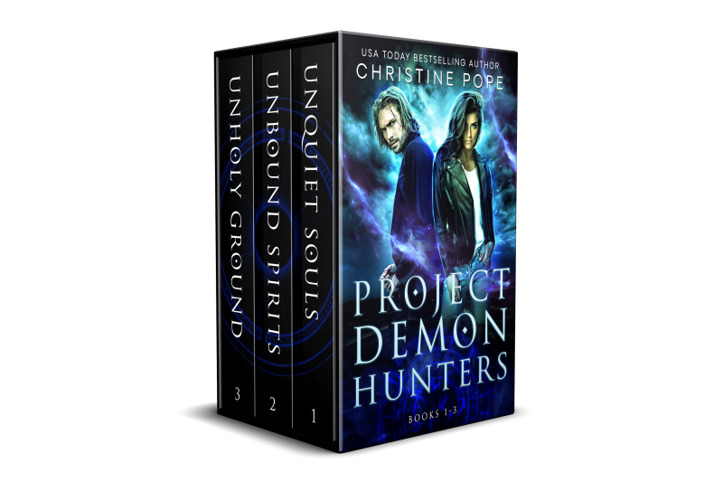 Project Demon Hunters, Books 1-3: Unquiet Souls, Unbound Spirits, and Unholy Ground